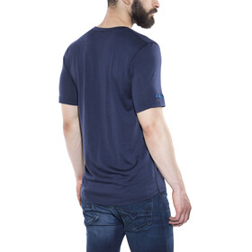 Bergans Exit Wool Tee Men Navy/Athens Blue